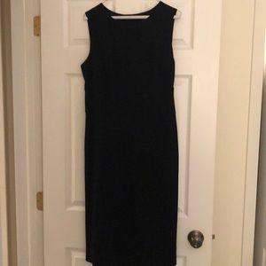Banana Republic black sheath dress